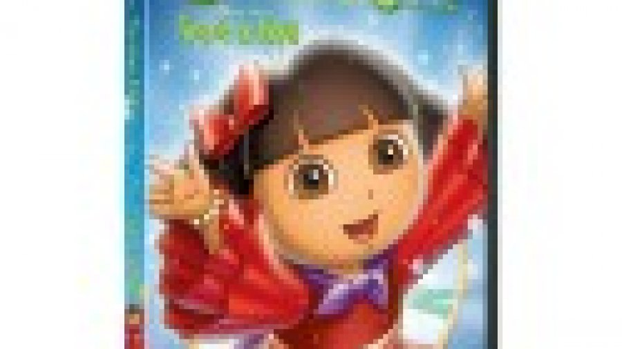 Dora the Explorer:  Dora's Christmas Carol Adventure DVD / CD Review