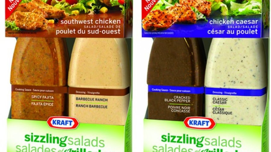 Kraft Sizzling Salads