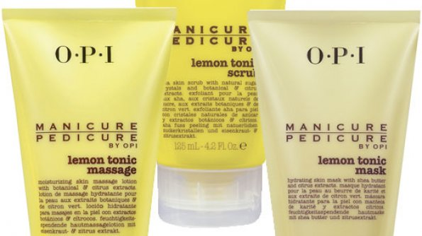 OPI Lemon Tonic Manicure / Pedicure Trio