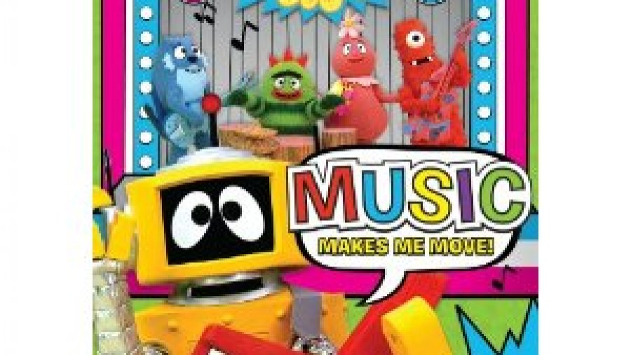 Yo Gabba Gabba: Music Makes Me Move! DVD