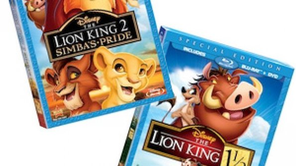 The Lion King 1 ½ and The Lion King 2: Simba's Pride on Blu-ray/DVD Combo Pack
