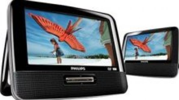 Road Trip Must-have: Philips Portable DVD Player
