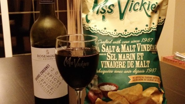 Miss Vickie's Potato Chips and Rosemount Estate Wines #MissVickies25th