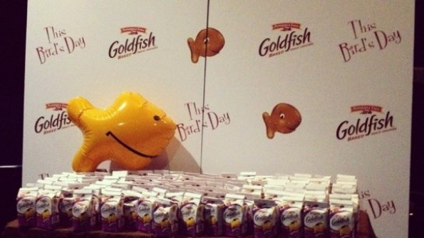 Thanks to Goldfish and YOU for a Wonderful Night Out #GoldfishMoments