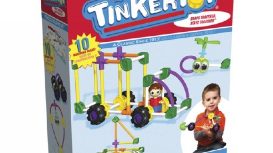 Playskool TinkerToy Vehicles Building Set