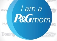 P&Gmom Official Blogger Badge