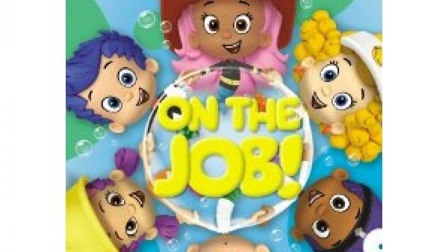 Bubble Guppies: On The Job on DVD