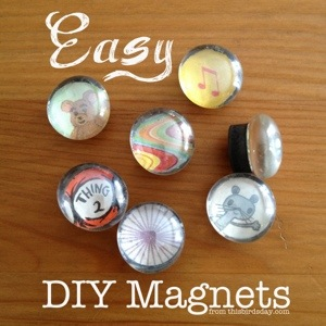Easy DIY Magnets for Gifts, Kids, Teens and More