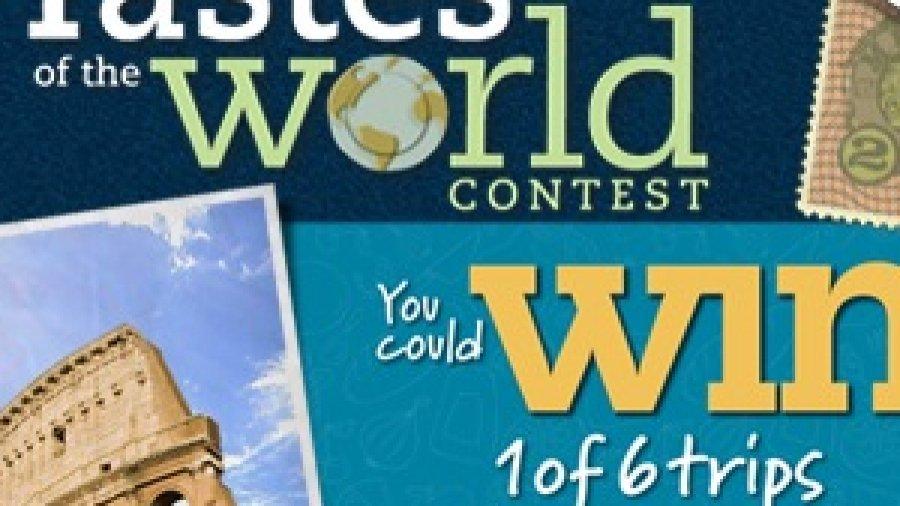 Sobeys West Tastes of the World Contest #SobeysWest