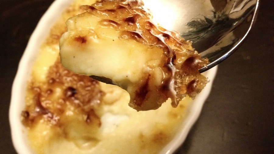 Eggnog Crème Brûlée