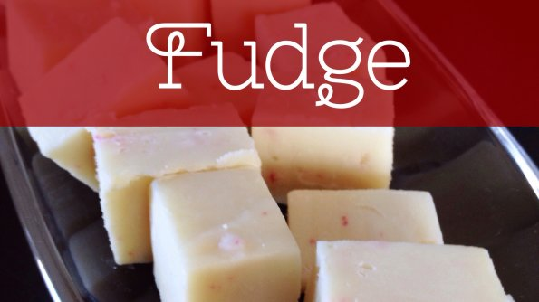 White Chocolate Candy Cane Fudge Recipe for the holidays