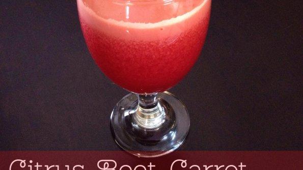 Citrus, Beet, Carrot Juice Recipe