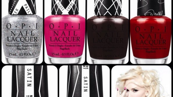 Gwen Stefani and OPI Make Music w/Ltd Ed Lacquers
