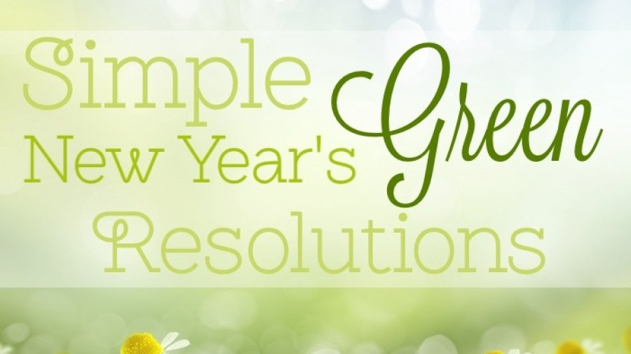 Simple Green New Year's Resolutions