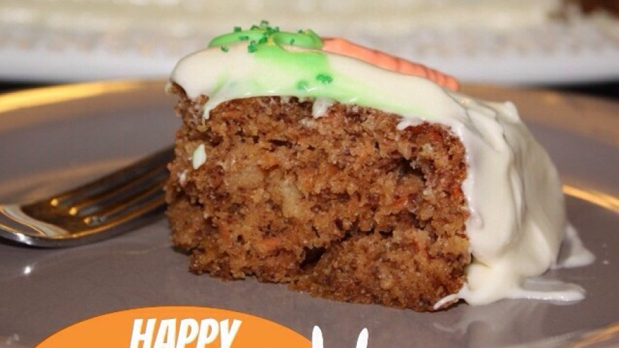 Carrot Cake, Carrot Cake Day, Happy Carrot Cake Day, Recipe, Delicious, Moist, Cream Cheese Icing, Best Carrot Cake Recipe