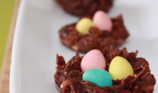 Eggs in a Nest Cookies (Easter recipe)