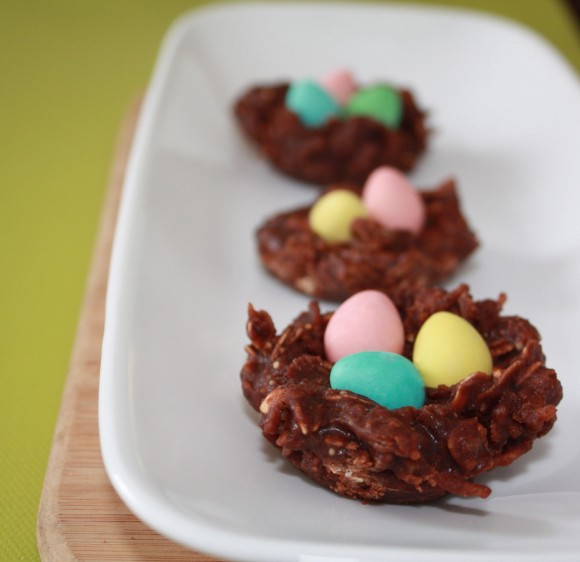 Perfect for Easter, these are easy to make and require NO baking.