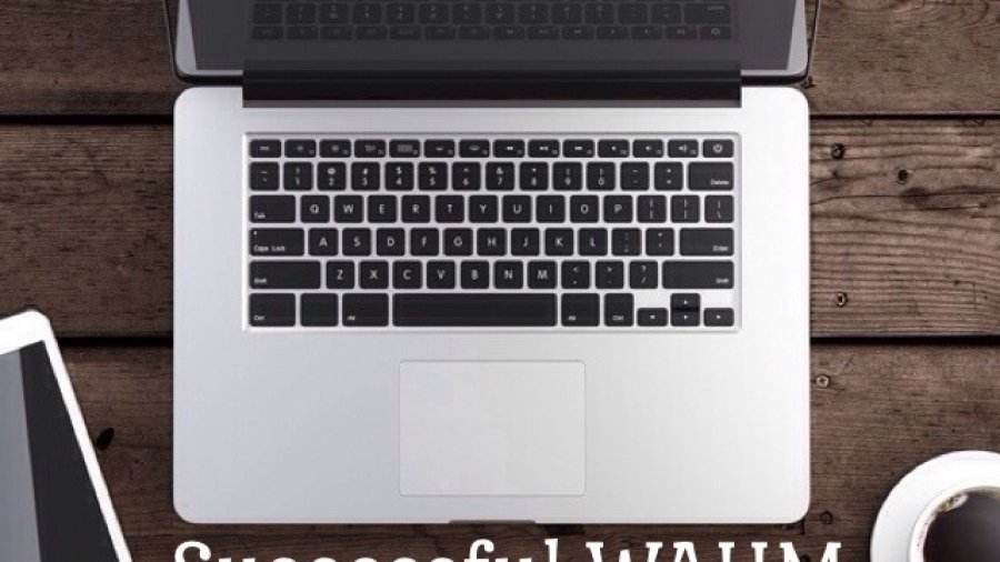 Computer and coffee for post on the habits of successful wahm bloggers. Image copyrights to © ekostsov - Fotolia.com