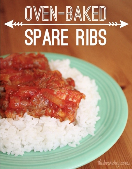 Spare Ribs Recipe, Baked in the Oven