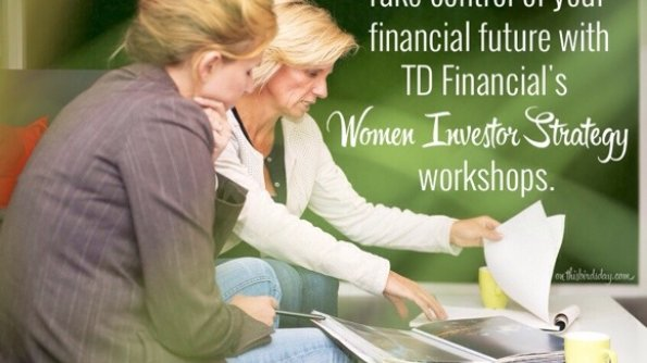 Women discussing banking for TDs Women Investor Strategy Workshop post