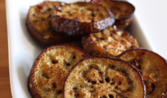 Garlic-roasted Eggplant Recipe