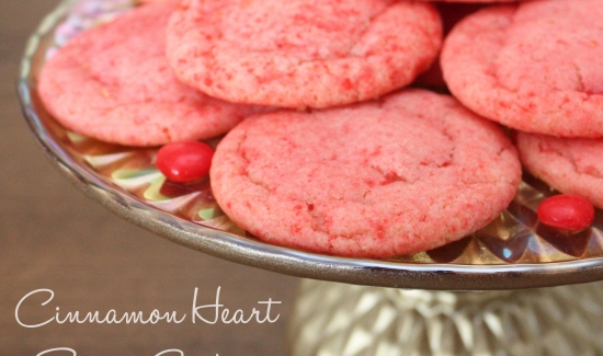 Cinnamon Heart Sugar Cookie Recipe