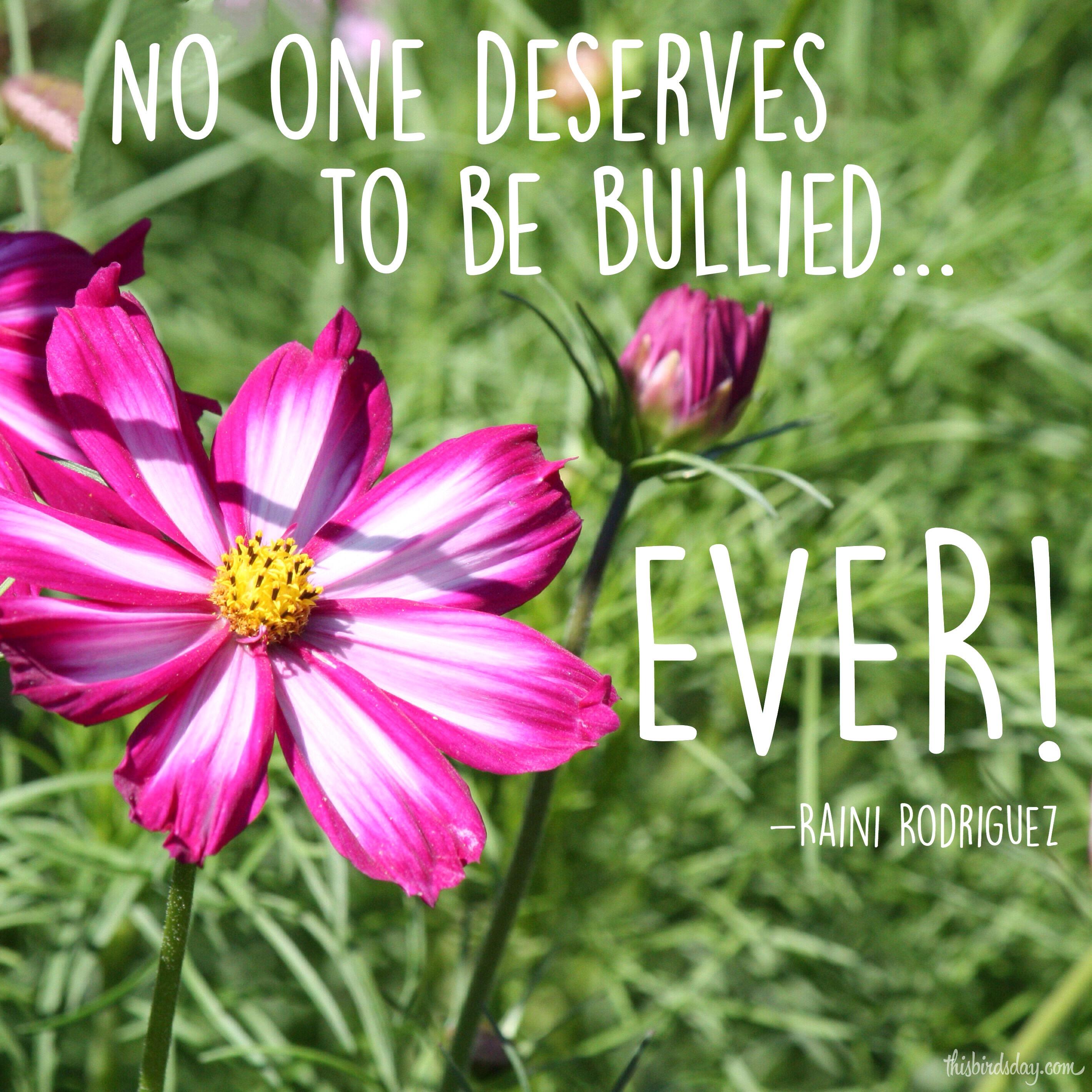 bullying-quote-pink-shirt-day-raini-rodriguez.JPG | This Bird's Day