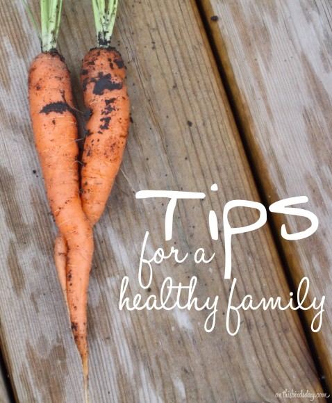 Top tips for a healthy family