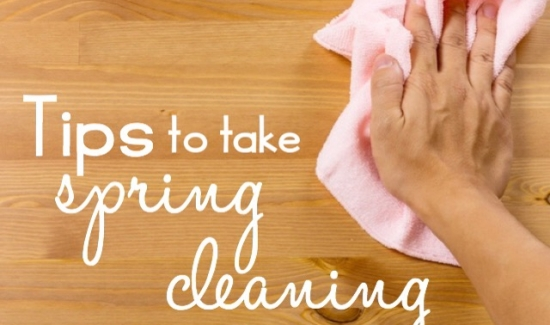 Tips to take spring cleaning one step further