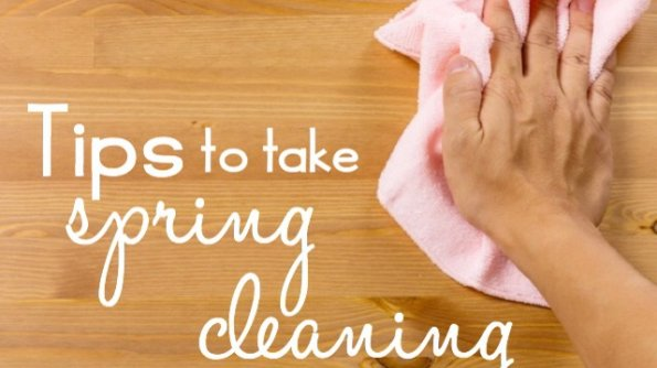 Tips to take spring cleaning one step further.