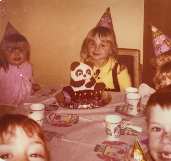 My 6th birthday party. Photo copyrights Sheri Landry.