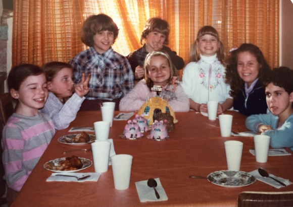 My 9th birthday party. Photo copyrights Sheri Landry.