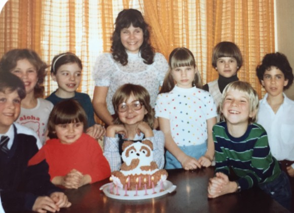 My 10th birthday party. Photo copyrights Sheri Landry.