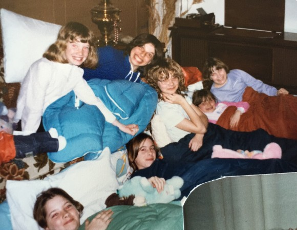 A sleepover birthday. Photo copyrights Sheri Landry.