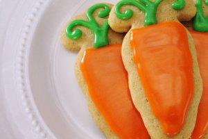 Carrot cake sugar cookies recipe