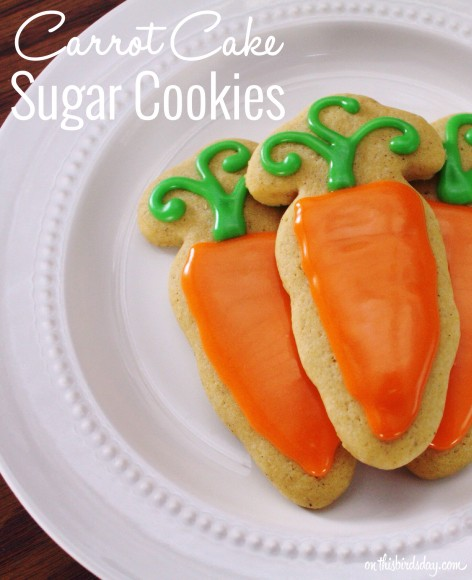 Carrot cake sugar cookies recipe
