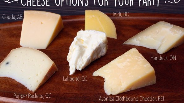 Here are some great cheese options for your next party or picnic. Ww them with something new.