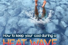 How to keep your cool duing a heat wave. Photo copyrights freshidea on Fotolia