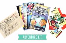 The Imaginary Friends Adventure kit.