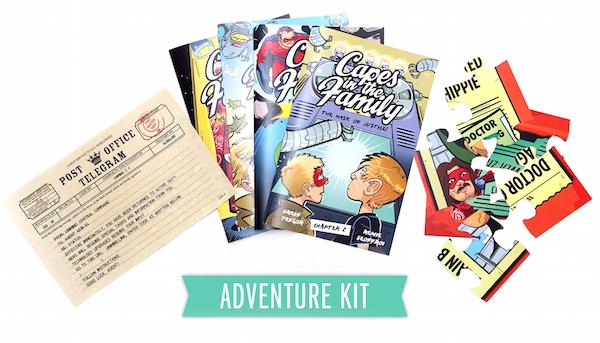 The Imaginary Friends Adventure kit.