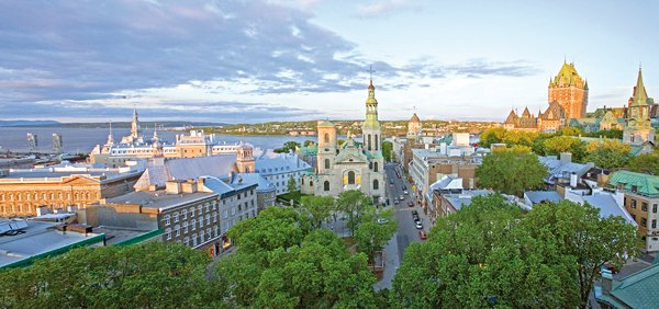 Panorama de Québec. Photo credit: Luc-Antoine Couturier