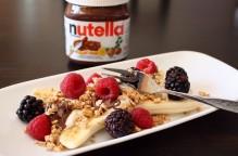 Nutella Banana Split Breakfast