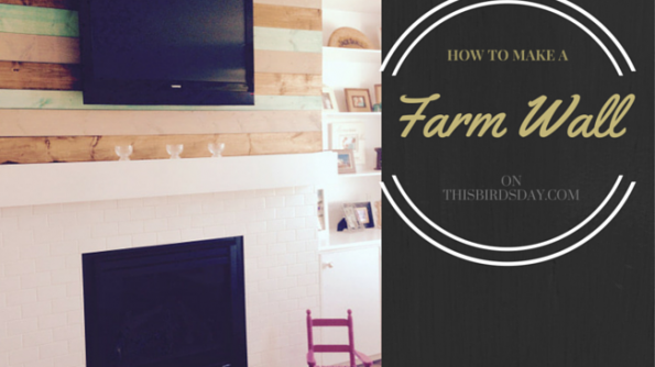 How to make a distressed vintage farm wall