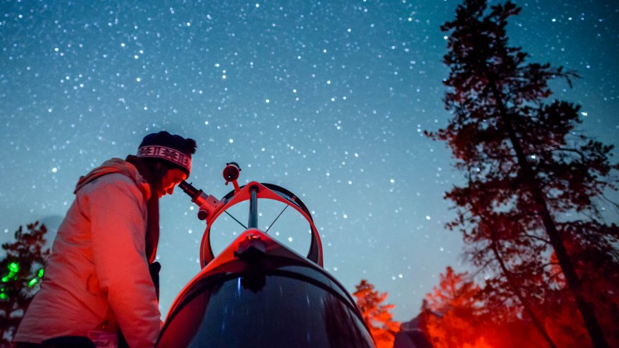 Dark Sky activities to experience while in Jasper
