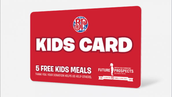 Kids Cards are back at Boston Pizza
