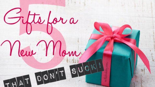 5 Gifts for a New Mom That Don't Suck! Original photo by baibaz on fotolia