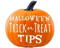Tips for a successful Halloween Trick or Treat