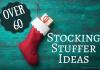Over 60 stocking stuffer ideas. Original photo credit Vitaliy on fotolia.