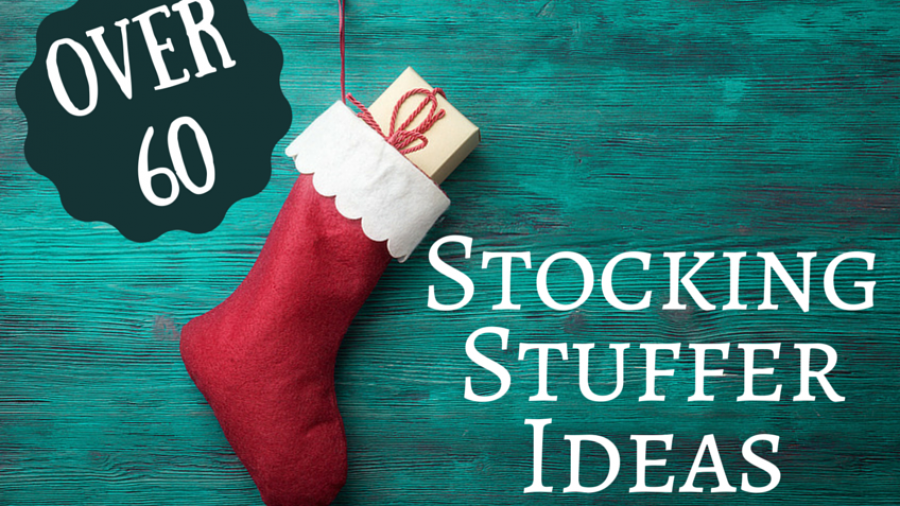 Over 60 stocking stuffer ideas. Original photo credit Vitaliy on fotolia.