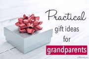 Practical gift ideas for grandparents